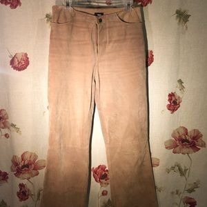 Mossimo Supply Co. Genuine leather pants